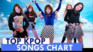 Kpop Chart 2019 Top 60 Kpop Songs Chart February Week 1 2019 Kpop Chart Kpc