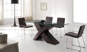 shocking wood base glass top dining table foter in for prepare picture of round popular and