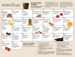 Shakeology Ingredient Chart Shakeology Recipes Jadefitness Com