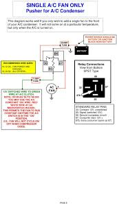 suggested electric fan wiring diagrams pdf to 89 240 you use the a c constant on wire red