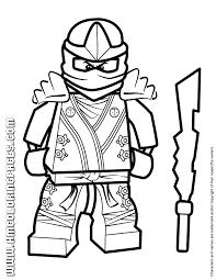 Cool Lego Ninjago Kai Kx Coloring Page Free Printable Coloring