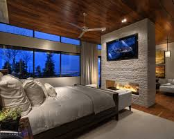 master bedroom ideas with fireplace. Beautiful Fireplace Best Master Bedroom Fireplace See Through Home  Design Ideas Pictures Throughout With D