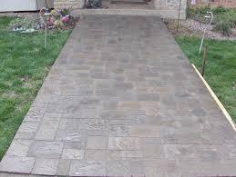 concrete pavers brick pavers home depot patio pavers