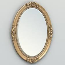 oval mirror frame. Oval Mirror Frame 003 3D Model V