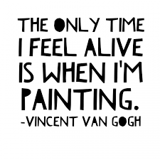 Paint Drops Artist Quotes Vincent Van Gogh Classy Quotes About Painting