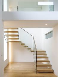 Cantilevered Wooden Staircases (Floating Wooden Stairs)