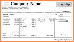 Download Payslip Template Fascinating Payslips Template Azserver