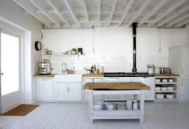 rustic white country kitchen. Modren Kitchen Adorable White Scandinavian Rustic Kitchen Design With Cbainetry And  Brick Siding Idea Small On Rustic White Country Kitchen