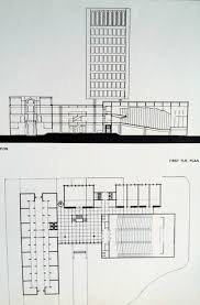 Islamic Bank Elevation And First Floor Plan Drawings Of