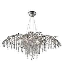 golden lighting 9903 12 msi autumn twilight 12 light 40 inch mystic silver chandelier