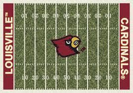 milliken area rugs ncaa college home field rugs 01150 louisville cardinals milliken area rugs ncaa college team rugs louisville cardinals milliken