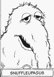 Small Picture snuffle free sesame street coloring pages Gianfredanet