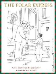 Free Reproducible The Polar Express Coloring Sheet Coloringsheets