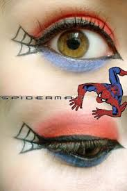 spiderman makeup for corrie metz moore cause you re awesome at makeup we