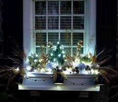 Schöne Fensterdeko Weihnachten Draußen Licht Fensterdeko