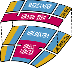 The California Theatre Seating Chart Symphony Silicon Valley