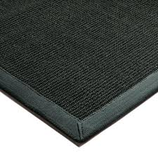 sisal rugs black grey border rug friday