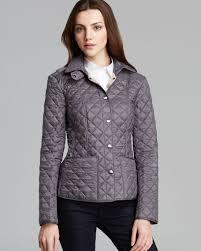 Burberry Brit Kencott Quilted Jacket in Gray | Lyst & Gallery Adamdwight.com