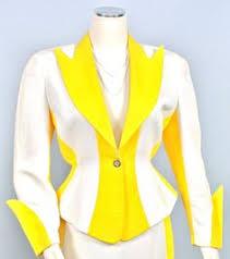 Vintage Mugler <b>Cotton</b> Suit, <b>Fashion Collage</b>, Thierry Mugler, White ...