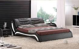 high quality bedroom furniture. discount royal bedroom furniture high quality factory price large king size genuine leather soft bed