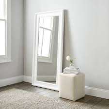 mirrors  wall floor dressing table  full length  the white