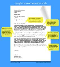 Best Ideas Of Letter Of Interest Format Simple Letter Of Interest