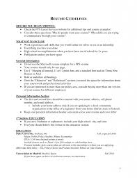 Resume Education Section Example Resume Examples Skills Section