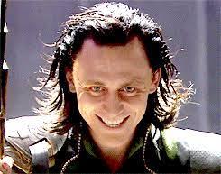 Sometimes it's an evil smile. Loki Thor 2011 Photo Loki Evil Smile Thor 2011 Loki