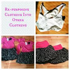 diy repurposing old clothing to new clothing