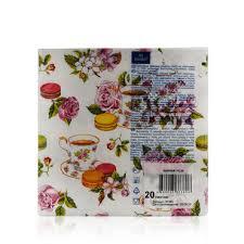 """<b>Бумажные салфетки Bouquet</b> """" Чайная роза """" 3х-слойные , 33 ..."""