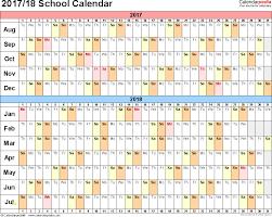 Free Printable School Calendar School Calendar 2017 18 Template Best Of School Calendars 2017 2018