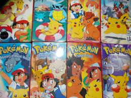 VTG 1990s 1998 VHS Pokemon movie cartoon tv series Pikachu ...