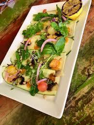 zucchini prosciutto at avocado grill in west palm beach