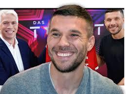 Lukas josef podolski (german pronunciation: Das Supertalent Lukas Podolski Bekommt Heftige Summe Fur Tv Show Das Supertalent