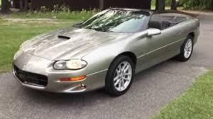 2002 Chevy Camaro SS/SLP Convertible 35h Anniversary ... Low miles ...