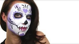 beginners sugar skull face painting tutorial snazaroo