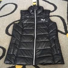 fila kensington anorak jacket. fila sporty shiny black puffer vest fila kensington anorak jacket e