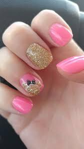 Pink and Gold minnie mouse nail art | Mickey nägel, Nageldesign disney,  Geburtstagsnägel