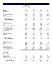 Simple Financial Statement Agarvain Org