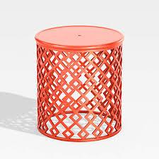 lattice diamonds small orange outdoor