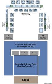 House Of Blues Myrtle Beach Sc Seating Chart Architectural