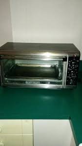 black and decker 8 slice toaster oven black 8 slice extra wide convection black decker extra