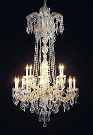 maria chandelier chandeliers crystal lighting theresa parts