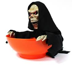 animated halloween candy bowl. Brilliant Halloween 1Piece Grim Reaper Animated Snapping Sam Candy Bowl Hallowmas Decoration  Play Toyin Party DIY Decorations From Home U0026 Garden On Aliexpresscom  Alibaba  And Halloween M