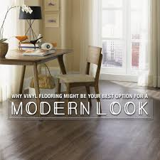 vinyl flooring for a modern look