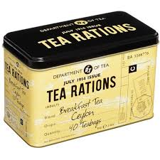Wartime Kitchen And Garden Dvd Wartime Vintage Tea Rations Tin Bbc Shop