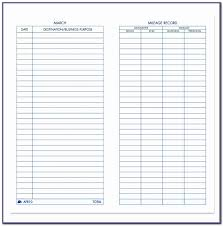 Vehicle Mileage Log Templates Dhysm Awesome Irs Mileage Log Form