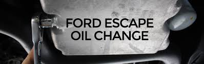 Engine Oil Drain Plug Torque Chart 2018 Change The Oil On A Ford Escape