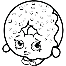 Shopkins Coloring Pages To Print Free Coloring Pages For Kids Of