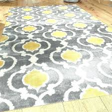 yellow and gray rug grey rugs area brown beige cool home goods square in y